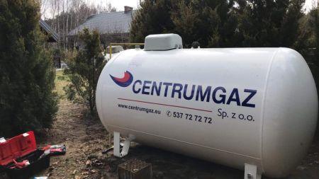 zbiornik gazu CentrumGaz